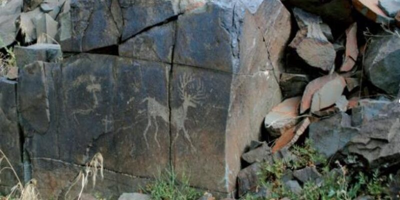 Petroglyphs of Karasay (from a bronze era to the early medieval period)